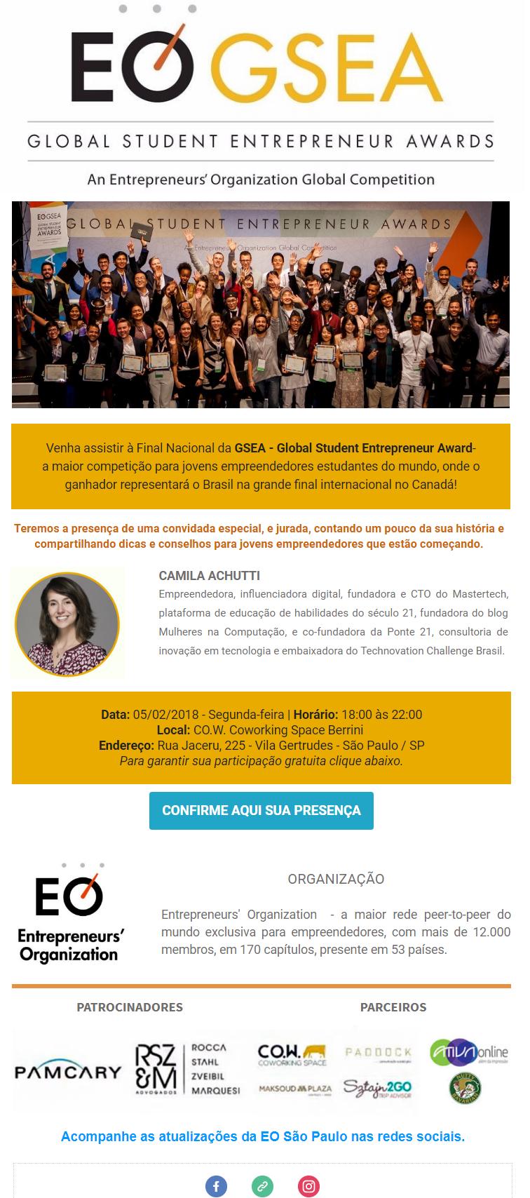 Convite GSEA Final Brasil