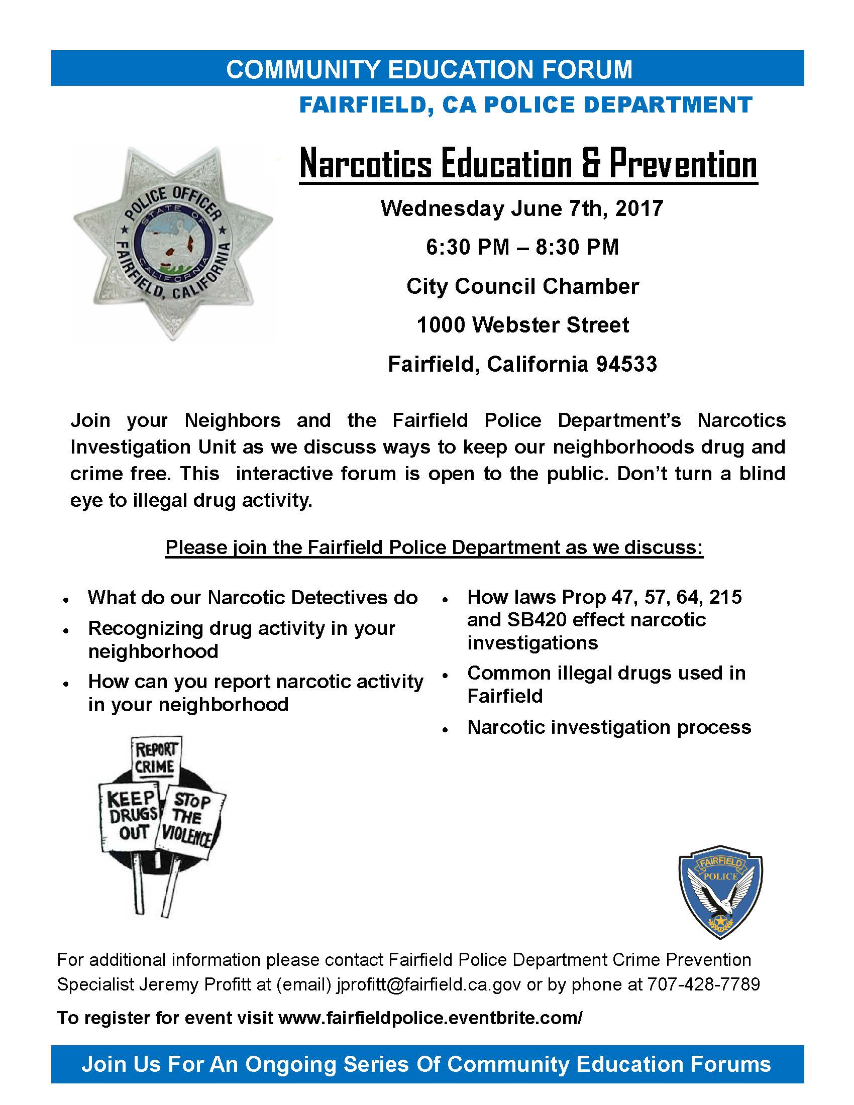 Narcotics Education and Prevention