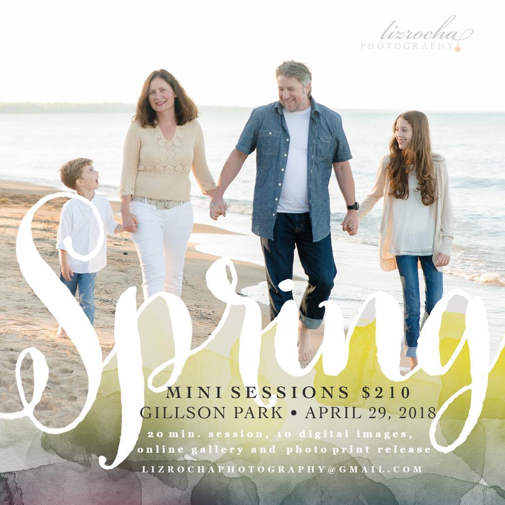 Spring Mini Session Wilmette