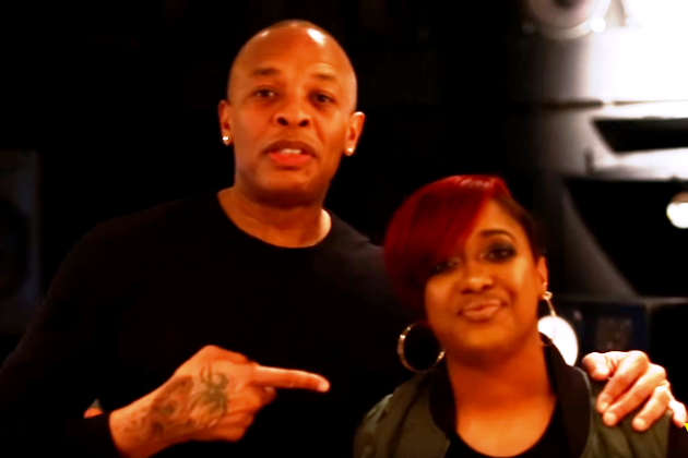 Rapsody and Dr. Dre