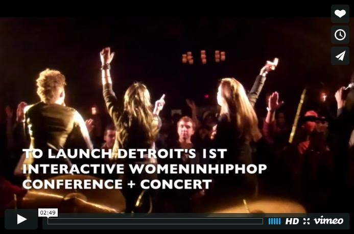 Support Detroit's 1st Women in Hip Hop Interactive Experience