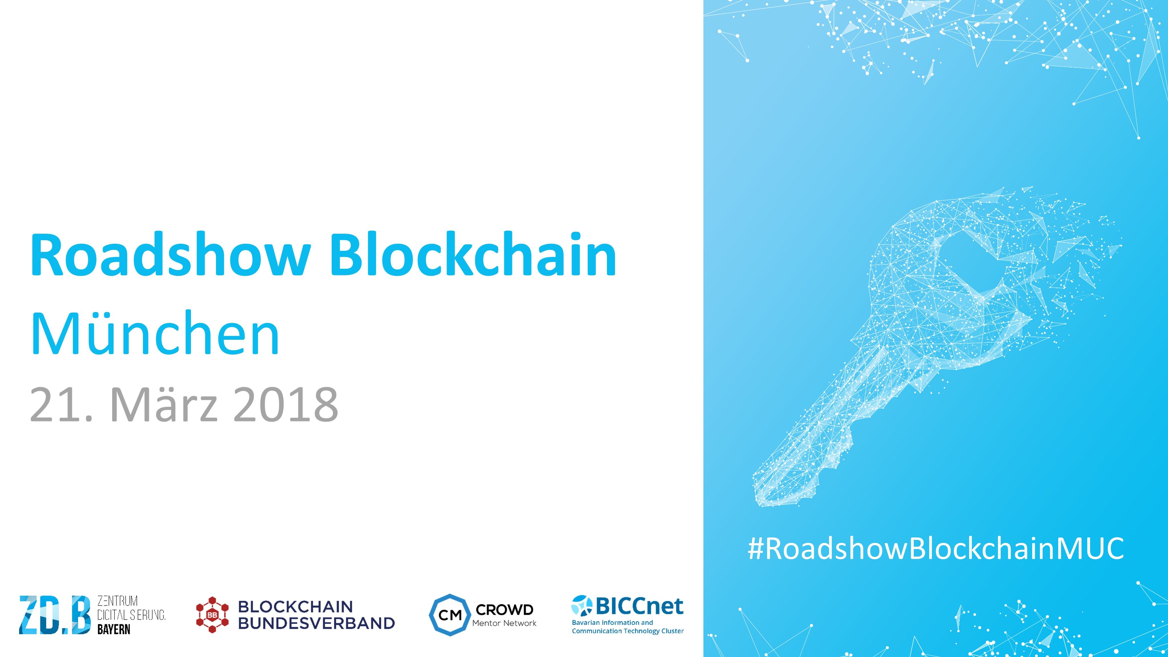 Roadshow Blockchain München - Titelbild
