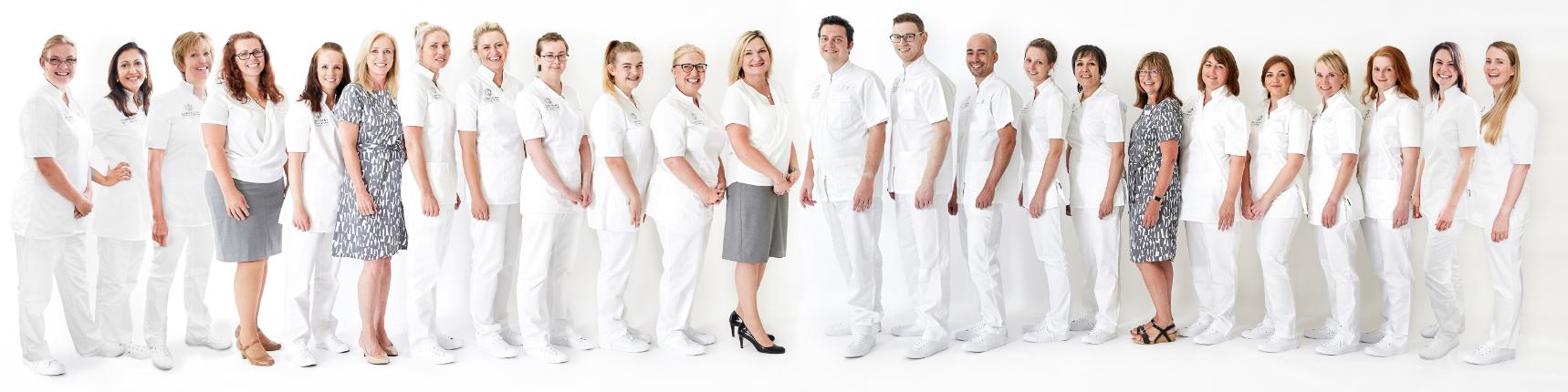 Confident Dental & Implant Clinic Stroud team photo