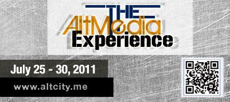 AltMedia Experience Week logo (July 25-30, 2011)