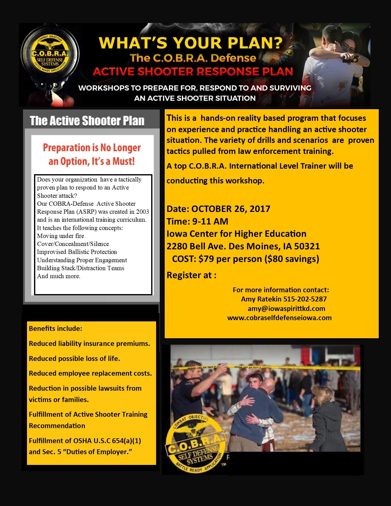 Active Shooter Seminar for Educators