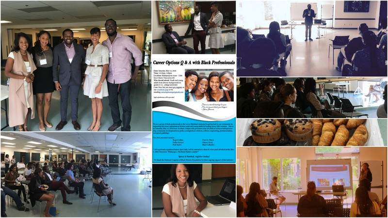 Career Options Q&A with Black Professionals -May 2016