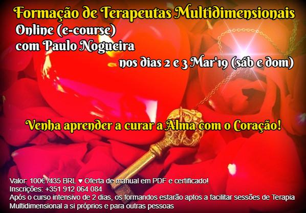 Curso de Terapia Multidimensional Online em Mar'19