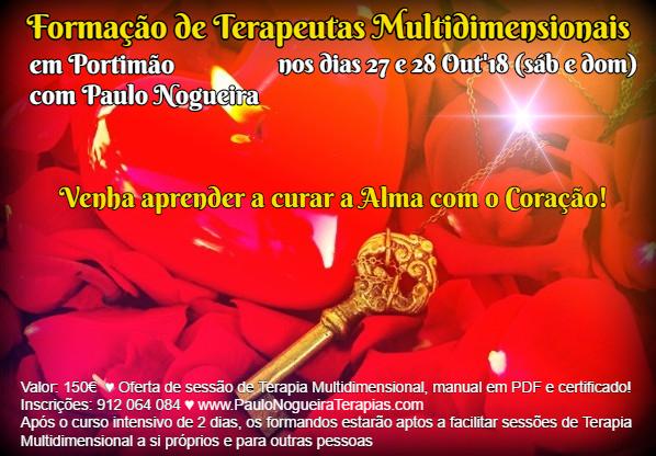 Curso de Terapia Multidimensional em Portimão