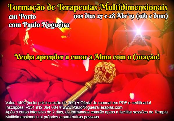 Curso de Terapia Multidimensional no Porto