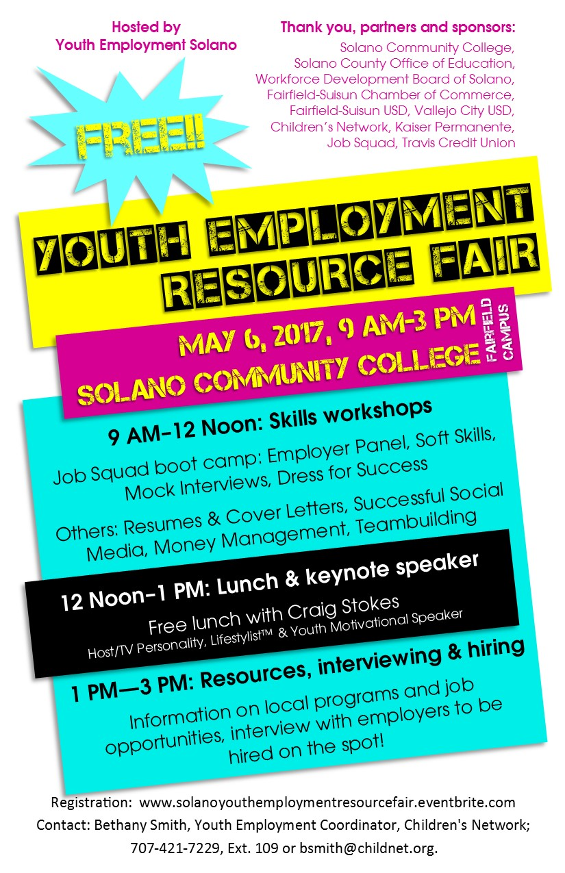 Youth Employment Resource Fair Tickets, Sat, May 6, 2017 at 9:00 ...