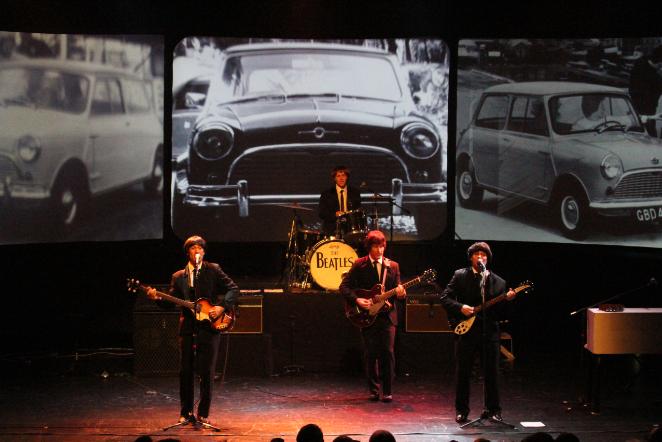 Beatlemania on stage
