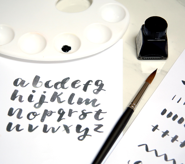 Brush Lettering Workshop London