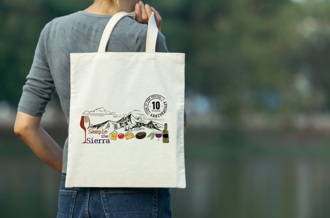 2019 Sample the Sierra Canvas Tote Bag