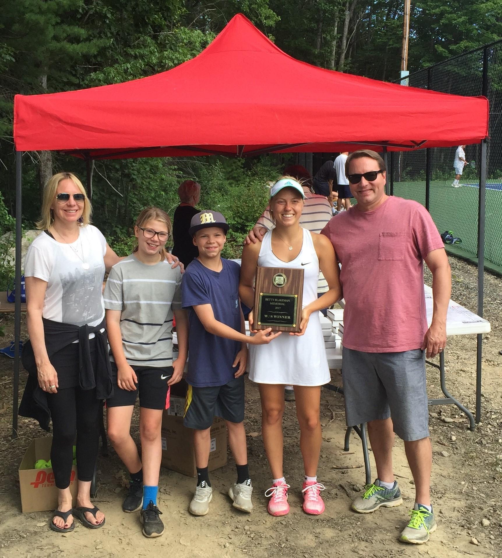 Olivia Leavitt Women's Open Champion