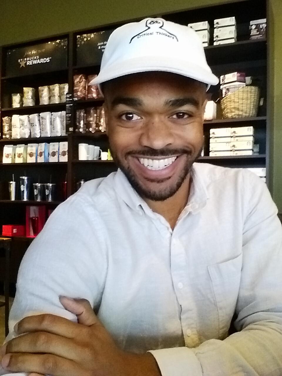 Image of @founderctc at Bluerock Starbucks