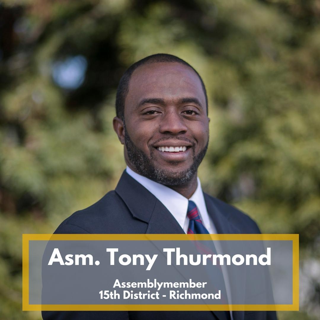 Asm. Tony Thurmond