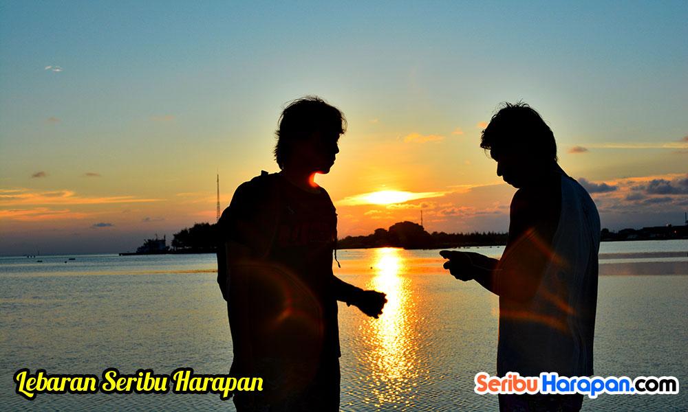 Liburan Lebaran di Pulau Harapan
