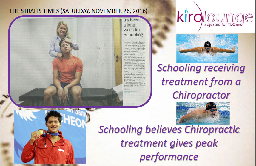 schooling Chiropractic session
