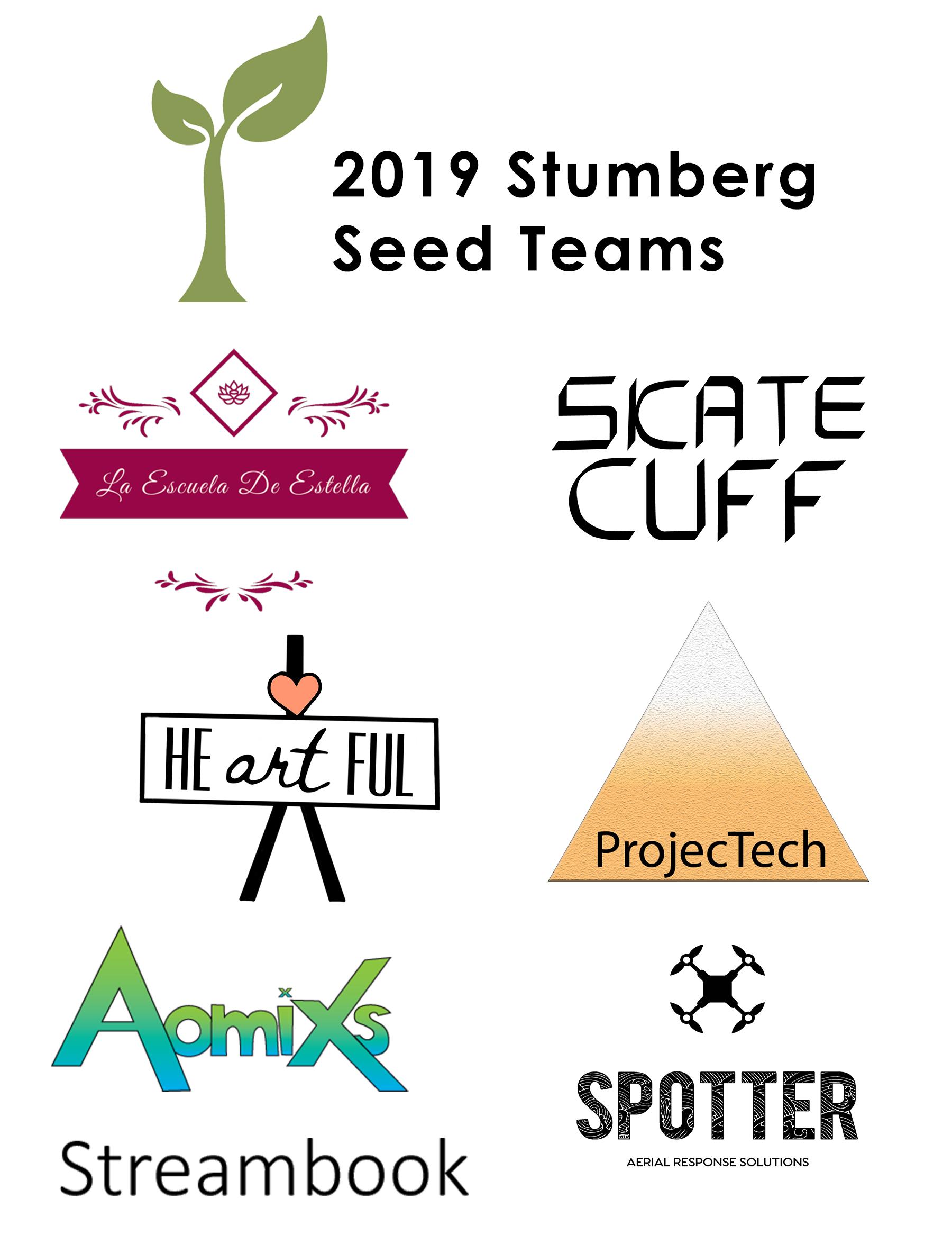2019 Seed Round Teams