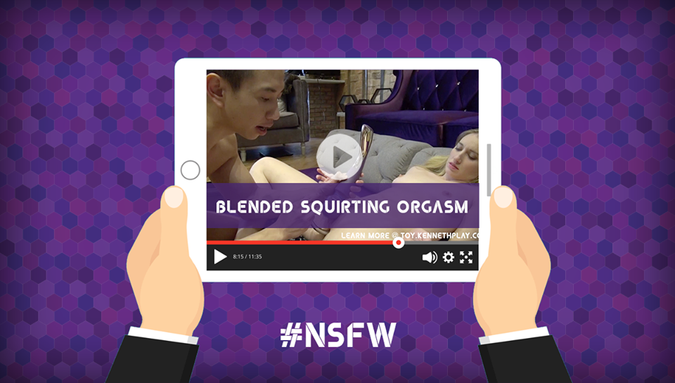 Click here to check out Kenneth's squirting hack in action! (NSFW)