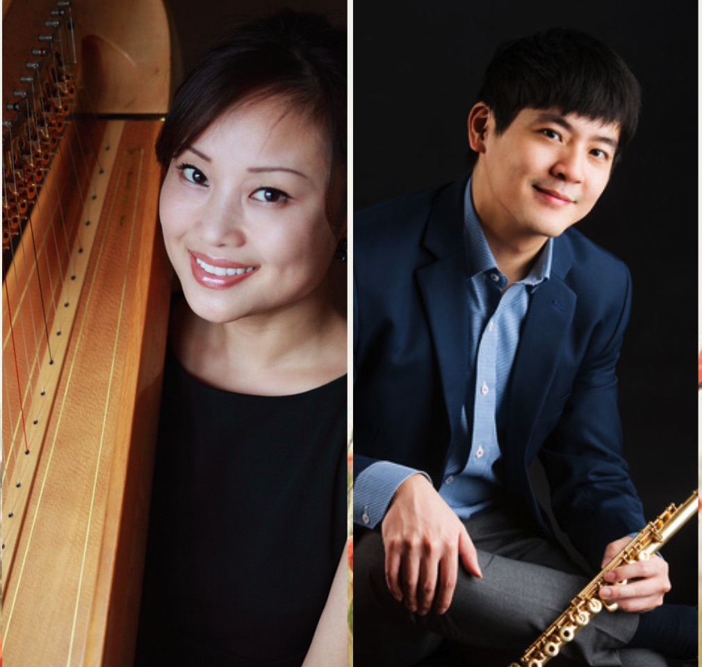 Jed Huang Jieyin Wu Flute Harp