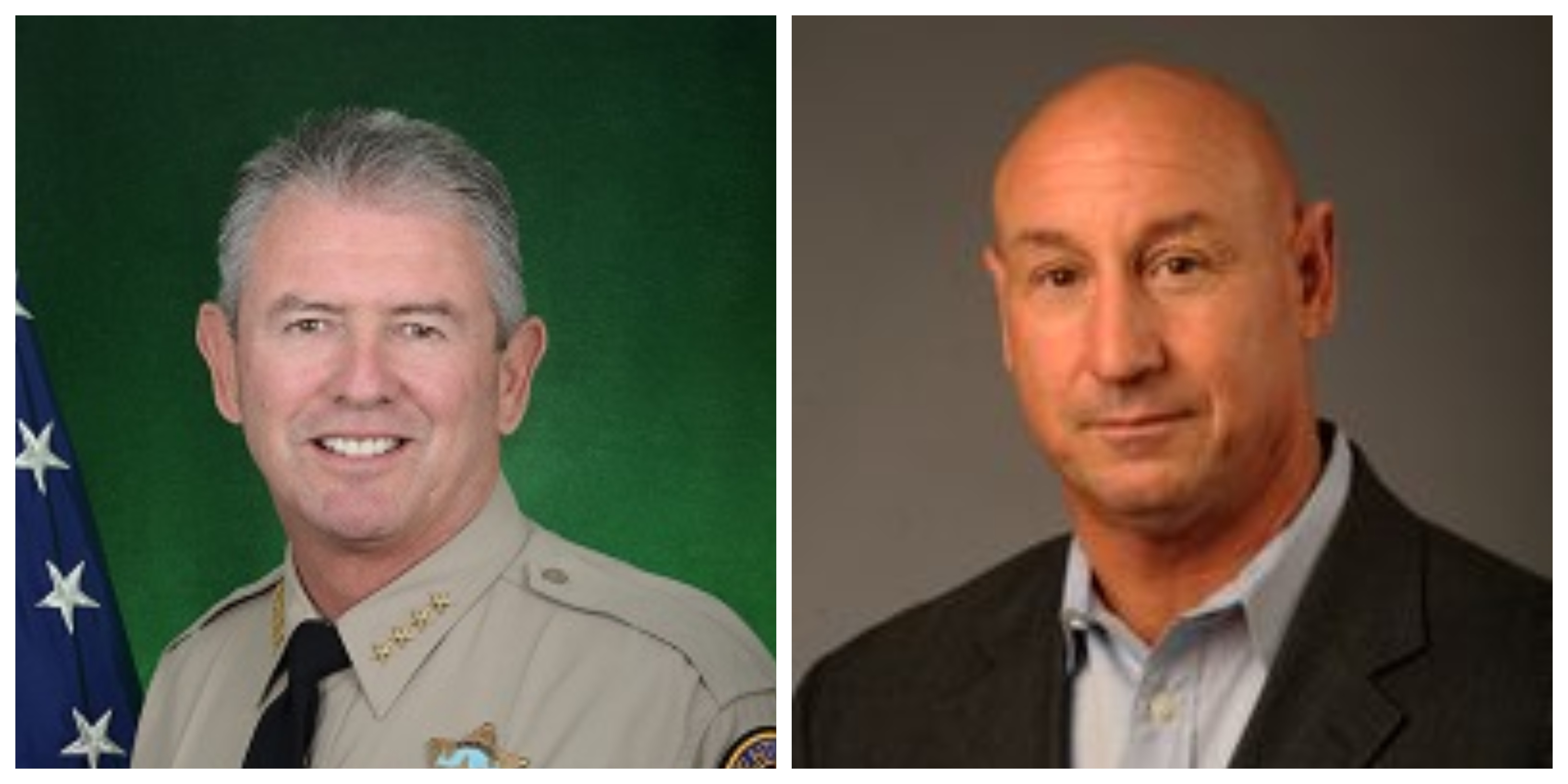 Geoff Dean, Former Sheriff of Ventura County, and Andy Fox, Former Mayor of Thousand Oaks
