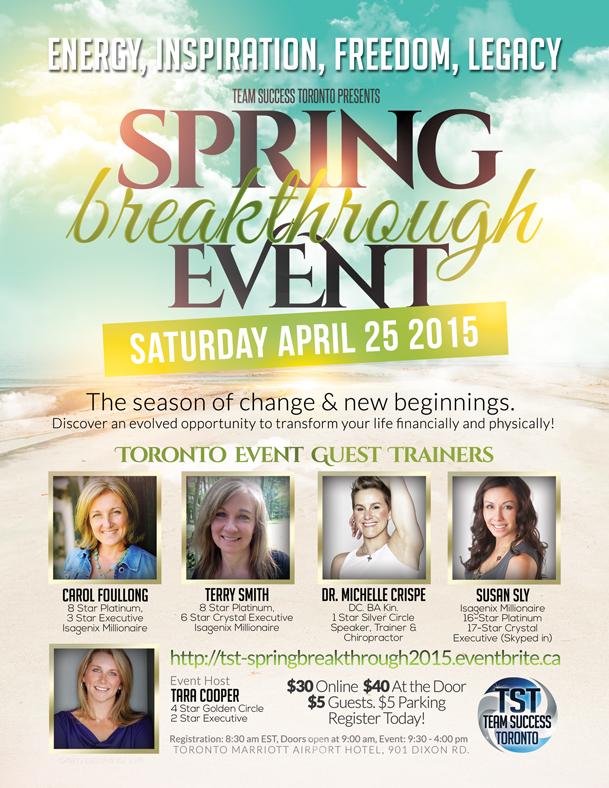 TST Spring Event 2015