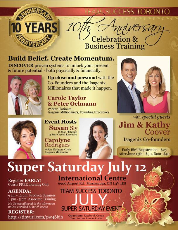Saturday Event