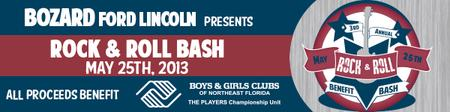 3rd Annual Boys & Girls Club Rock 'n Roll Bash at Bozard...