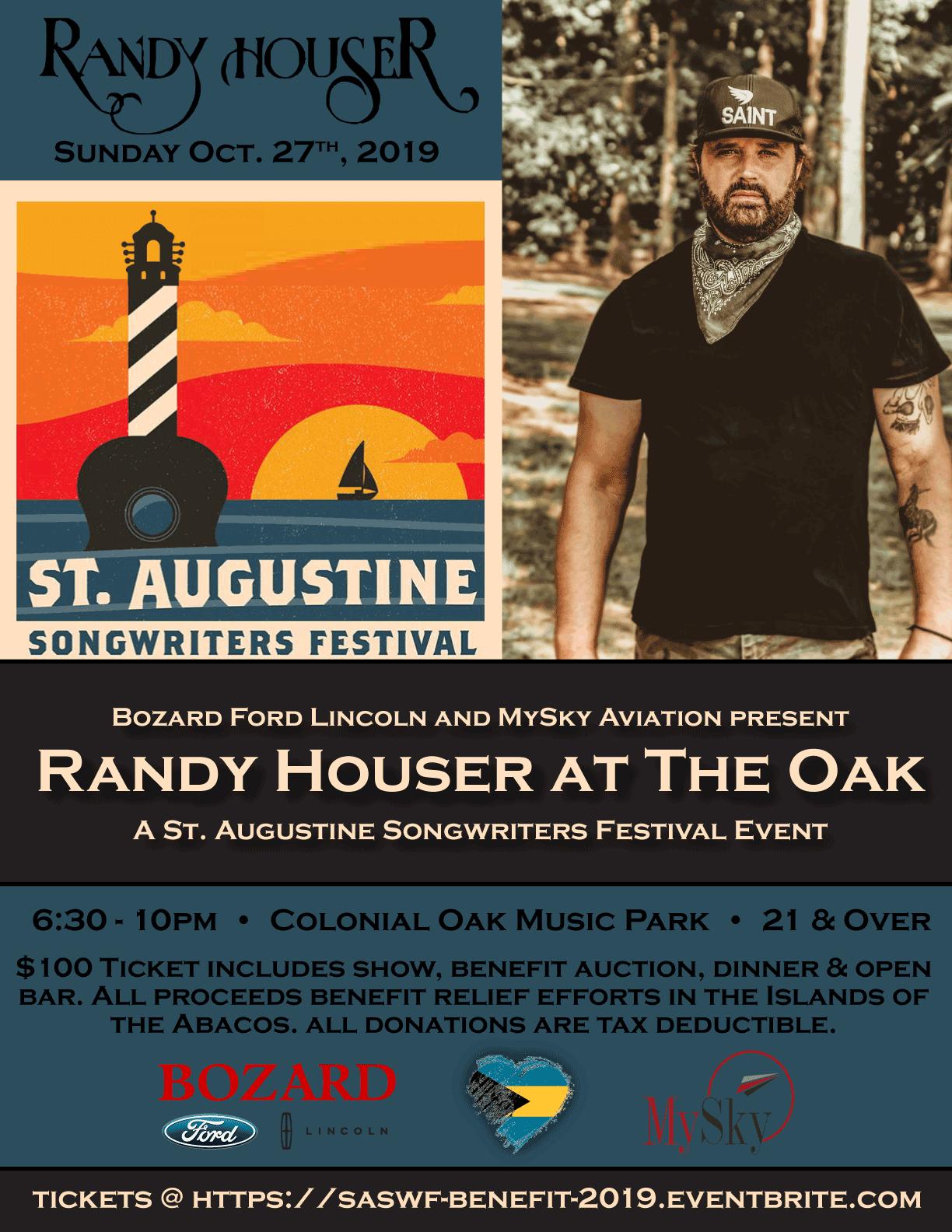 Randy Houser at The Oak