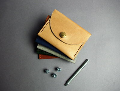 STUDIO NELLE LEATHER COIN / CARD HOLDER