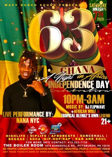 Nana NYC Flyer Ghana @ 63