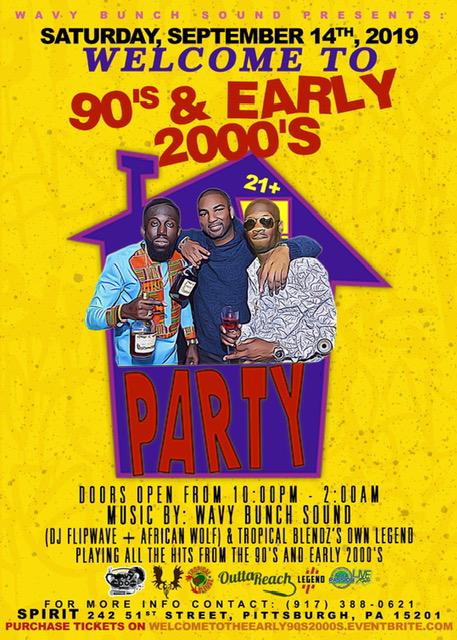 90's & 2000's Flyer