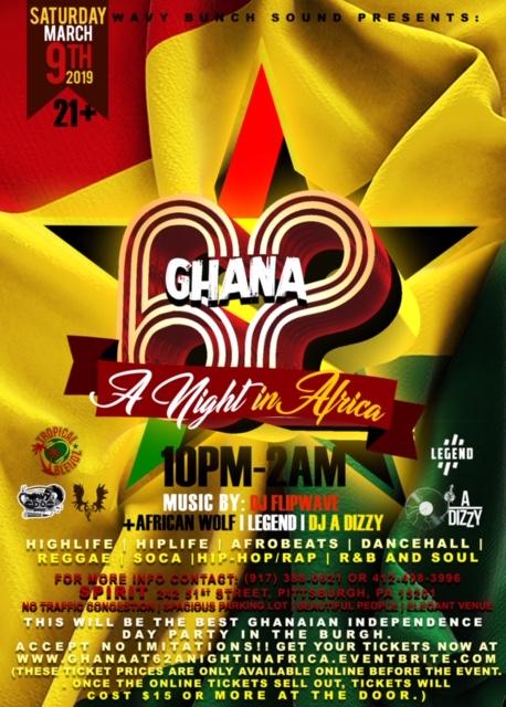 Ghana @ 62 Flyer