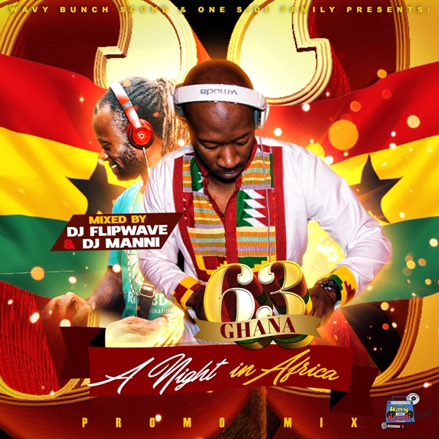 Ghana @ 63: A Night in Africa Promo Mixtape Cover