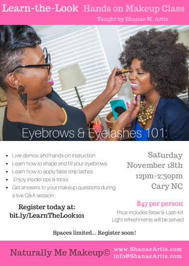 Learn the Look flyer