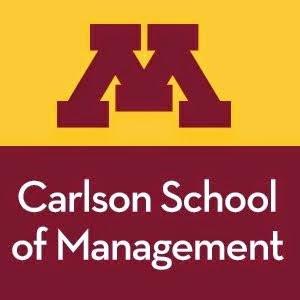 Carlson School logo