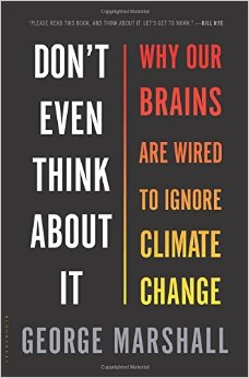 Don't even think about it - book cover
