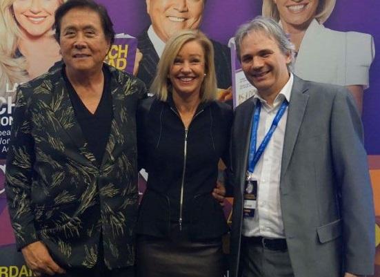 Reto with Robert and Kim