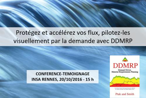 Agilea Conférence DDMRP INSA Rennes