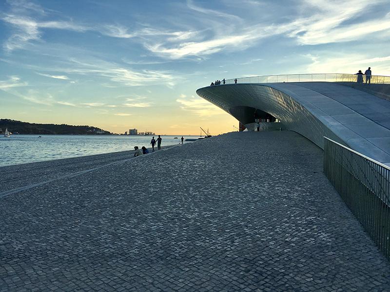 MAAT Museum Lisbon by Amanda Levete