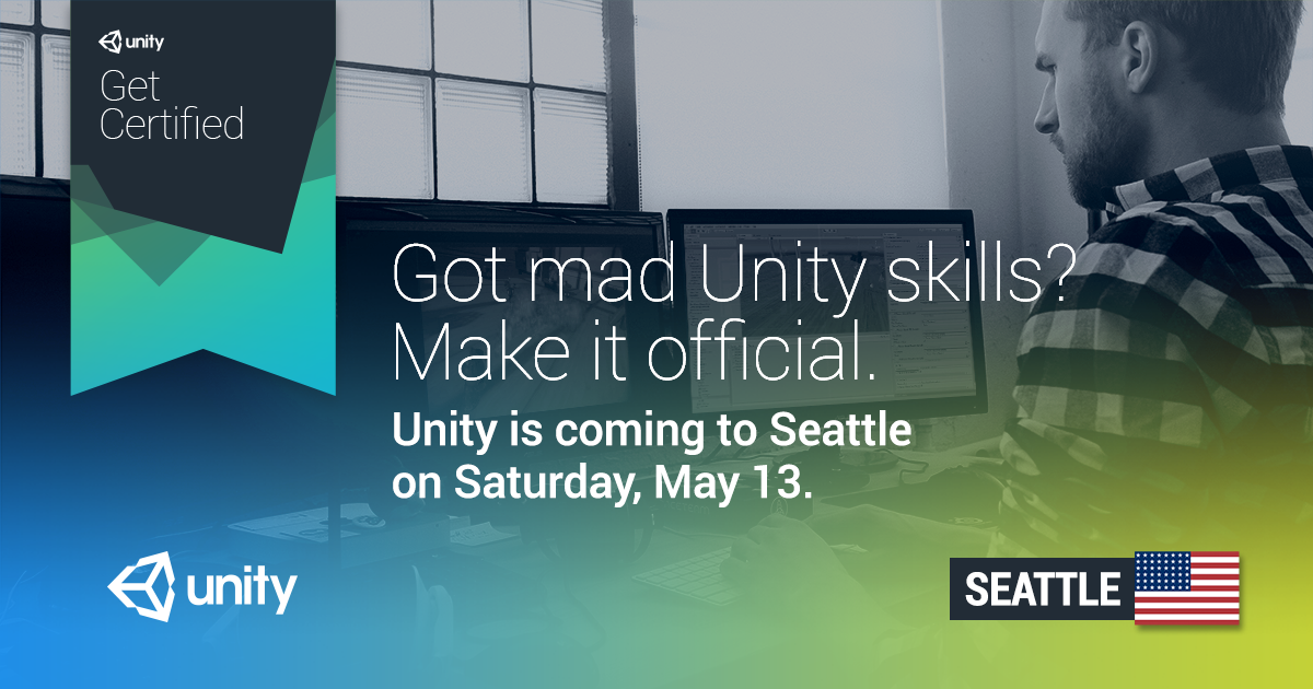 Unity Certified Developer Exam Seattle