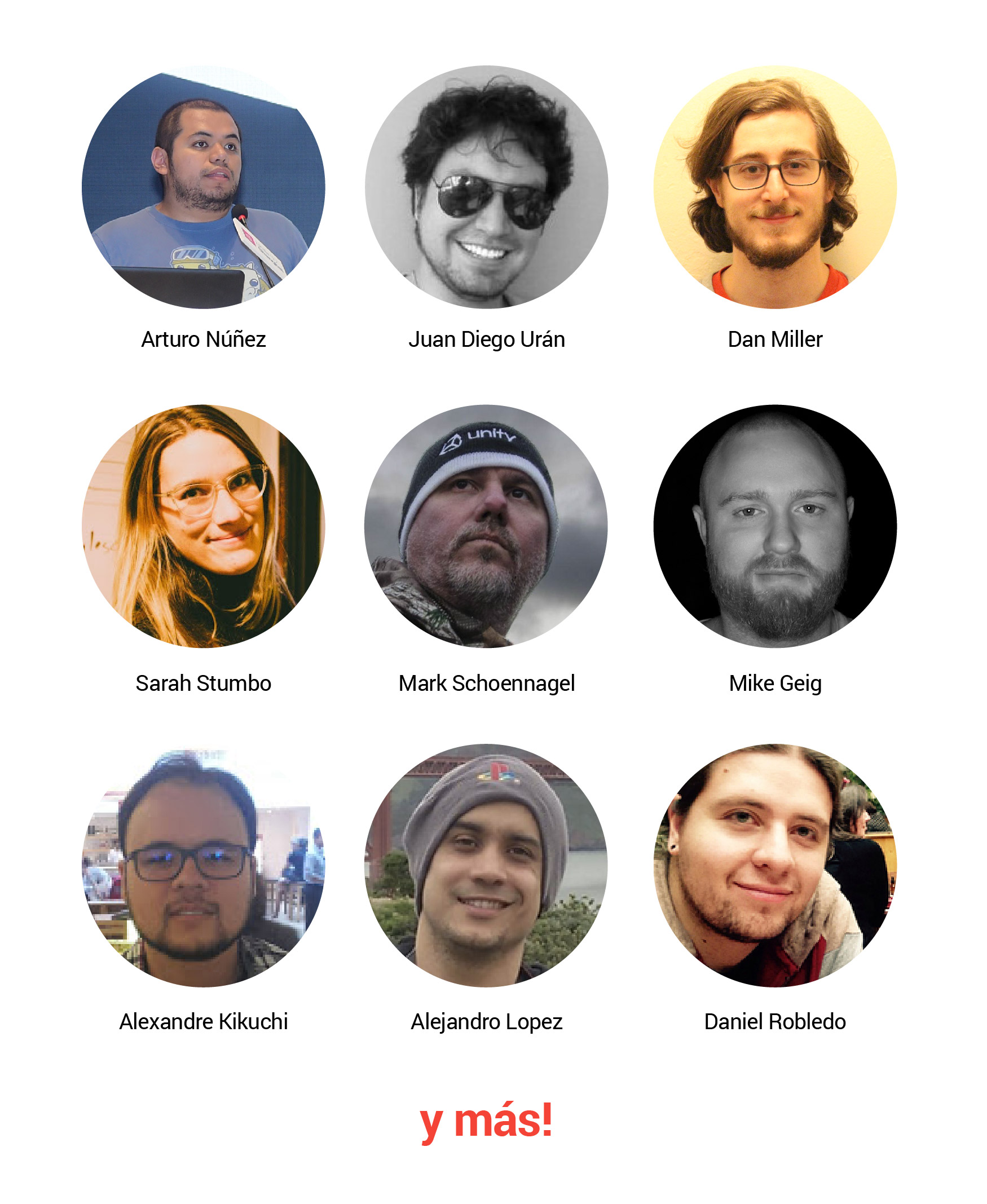 Developer Day Colombia Presentadores
