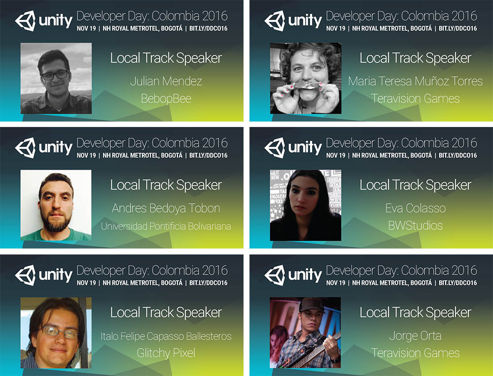 Local Developer Track Speakers