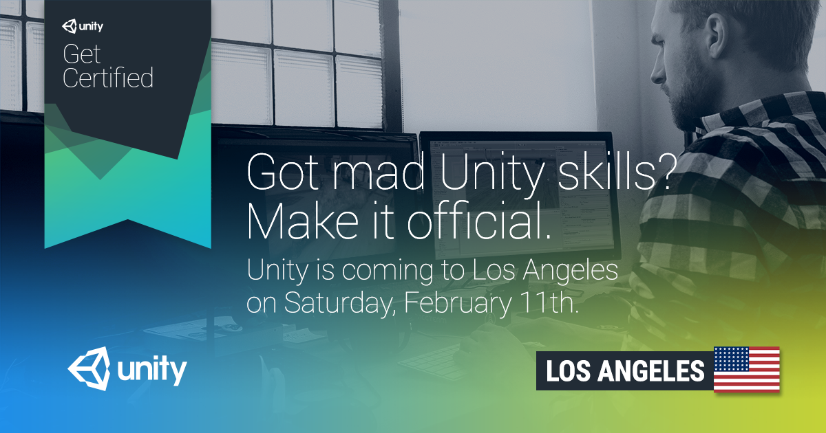 Unity Certified Developer Exam: Los Angeles