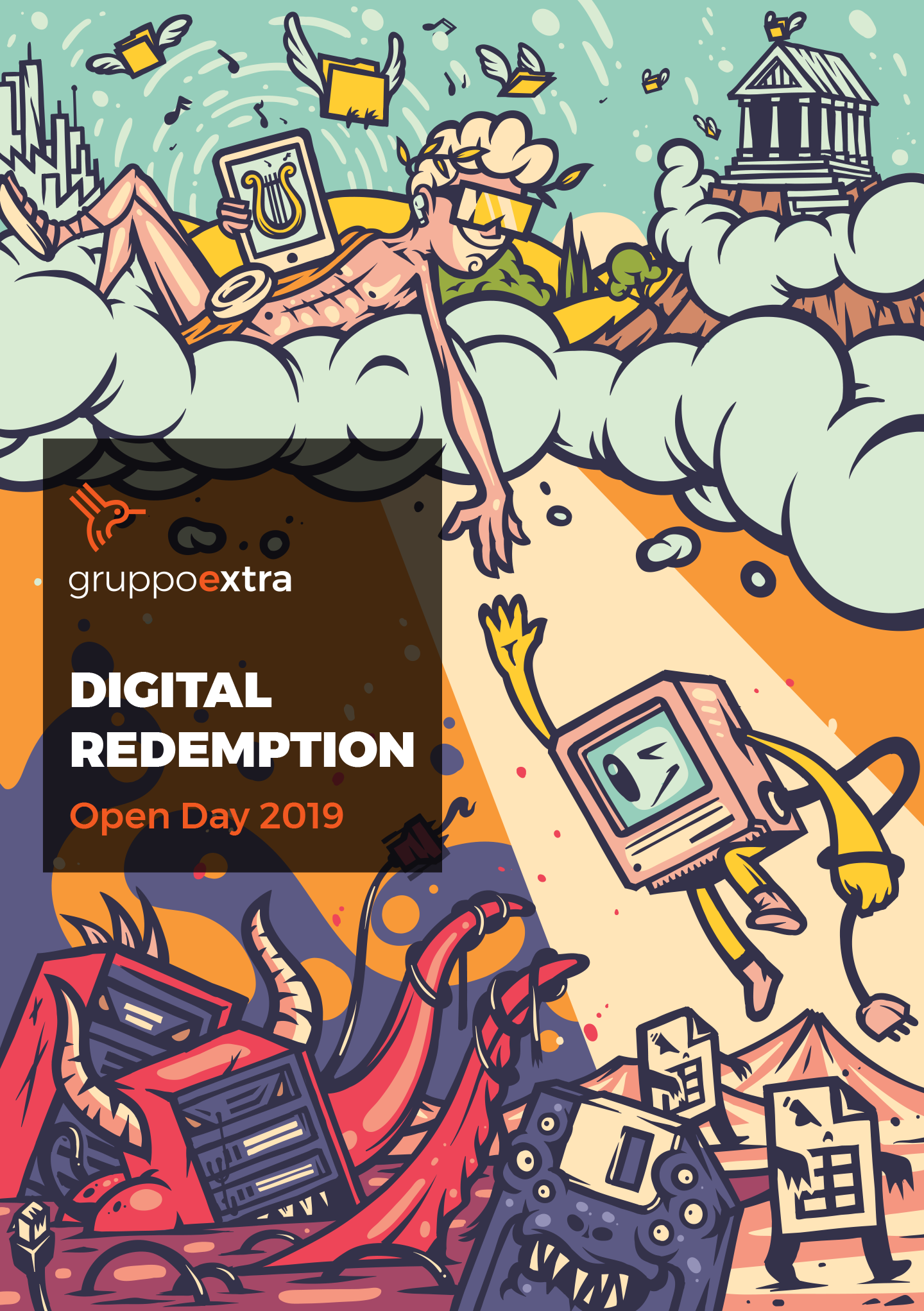 Extra Open Day 2019, Digital Redemption