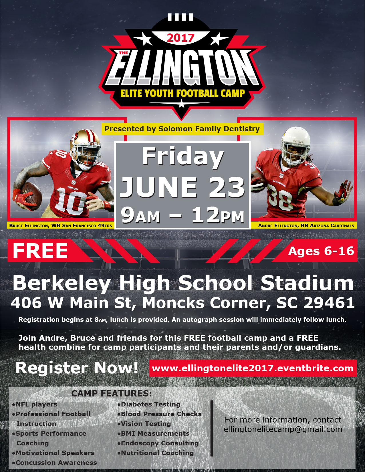 Elite Celebrity Youth Football Camps - Home   Facebook