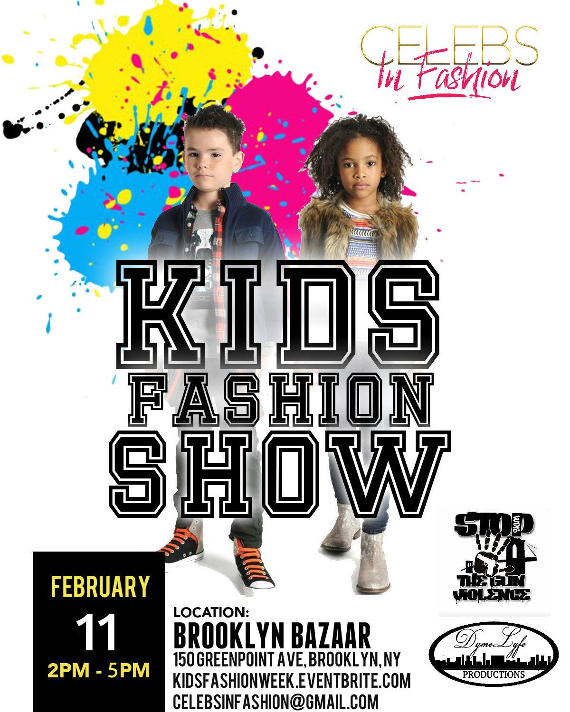 celebsinfashion4 kids fashion week tickets sun feb 11