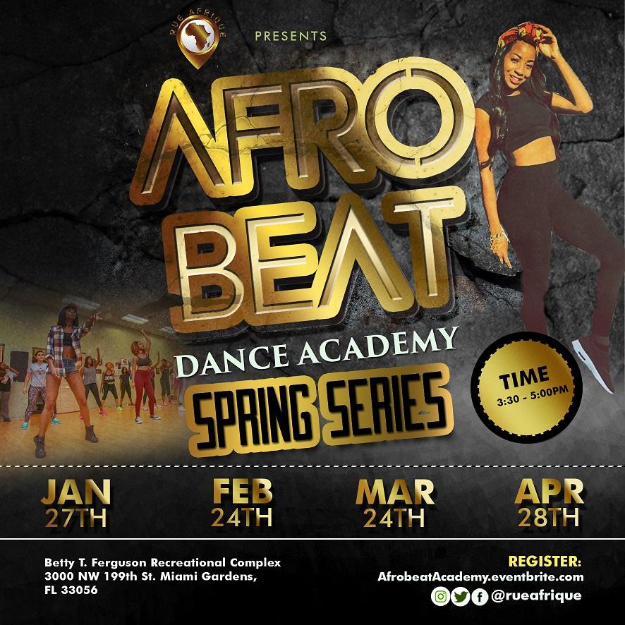 Afrobeat Dance Academy flyer