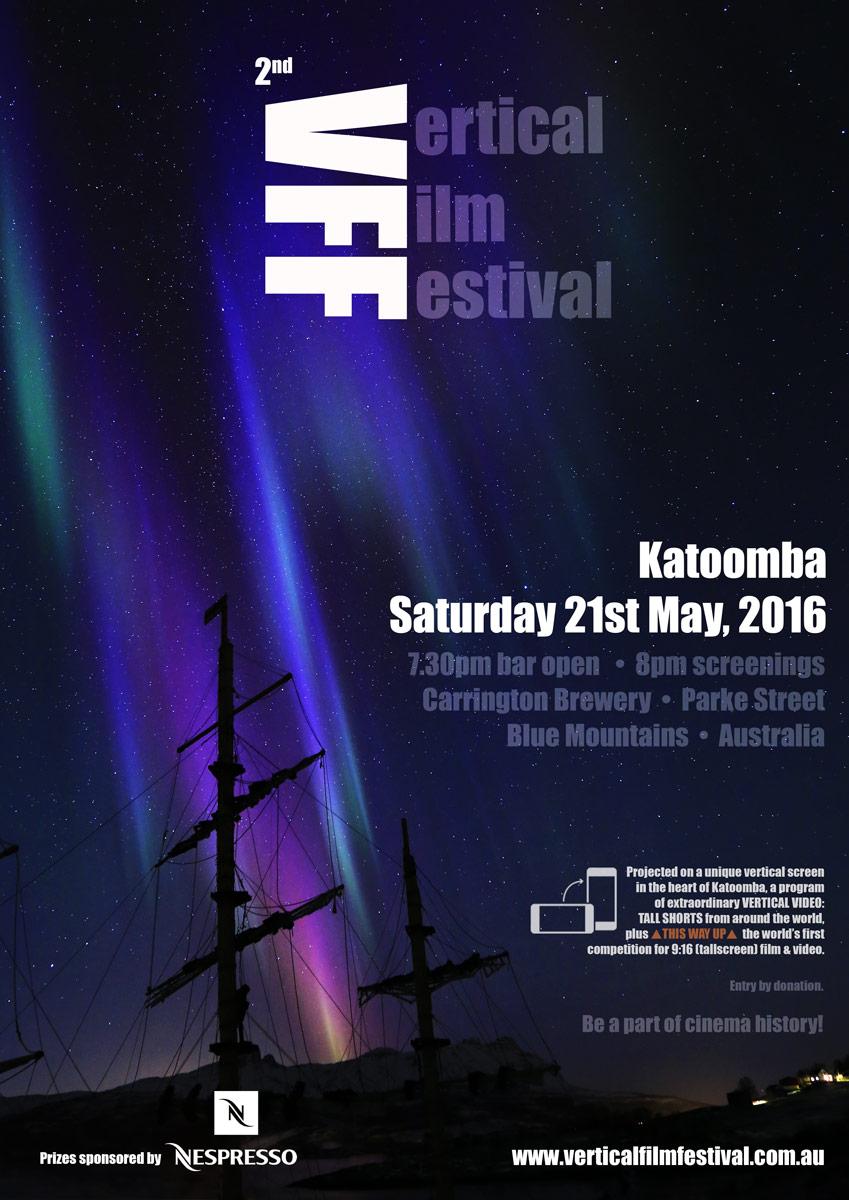 2nd Vertical Film Festival - poster